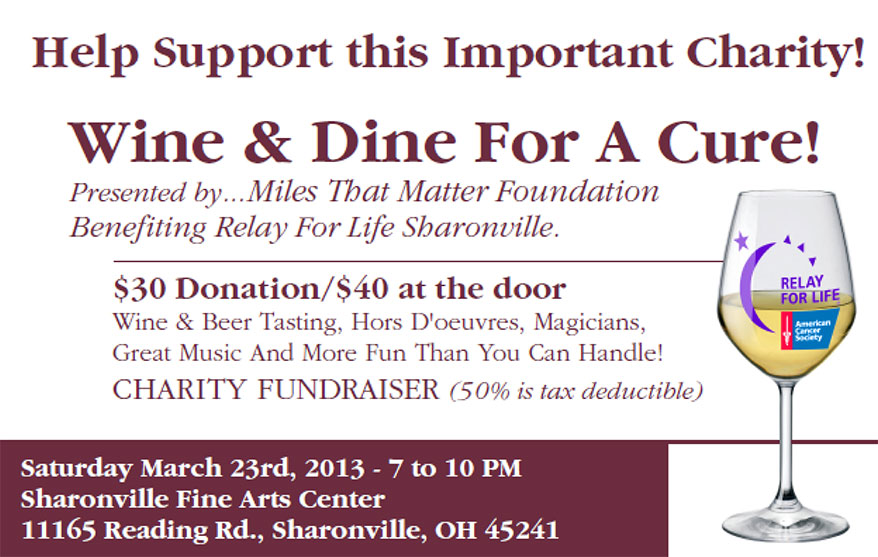 Wine and Dine for a Cure